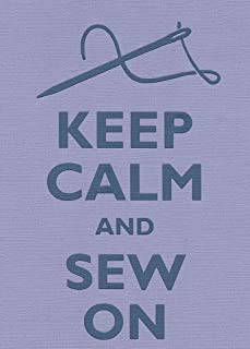 Rectangle Refrigerator Magnet - Keep Calm and Sew On Thread & Needle