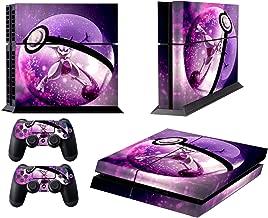 EBTY-Dreams Inc. - Sony Playstation 4 Original (PS4 Original) - Legendary Mewtwo Pokeball Vinyl Skin Sticker Decal Protector