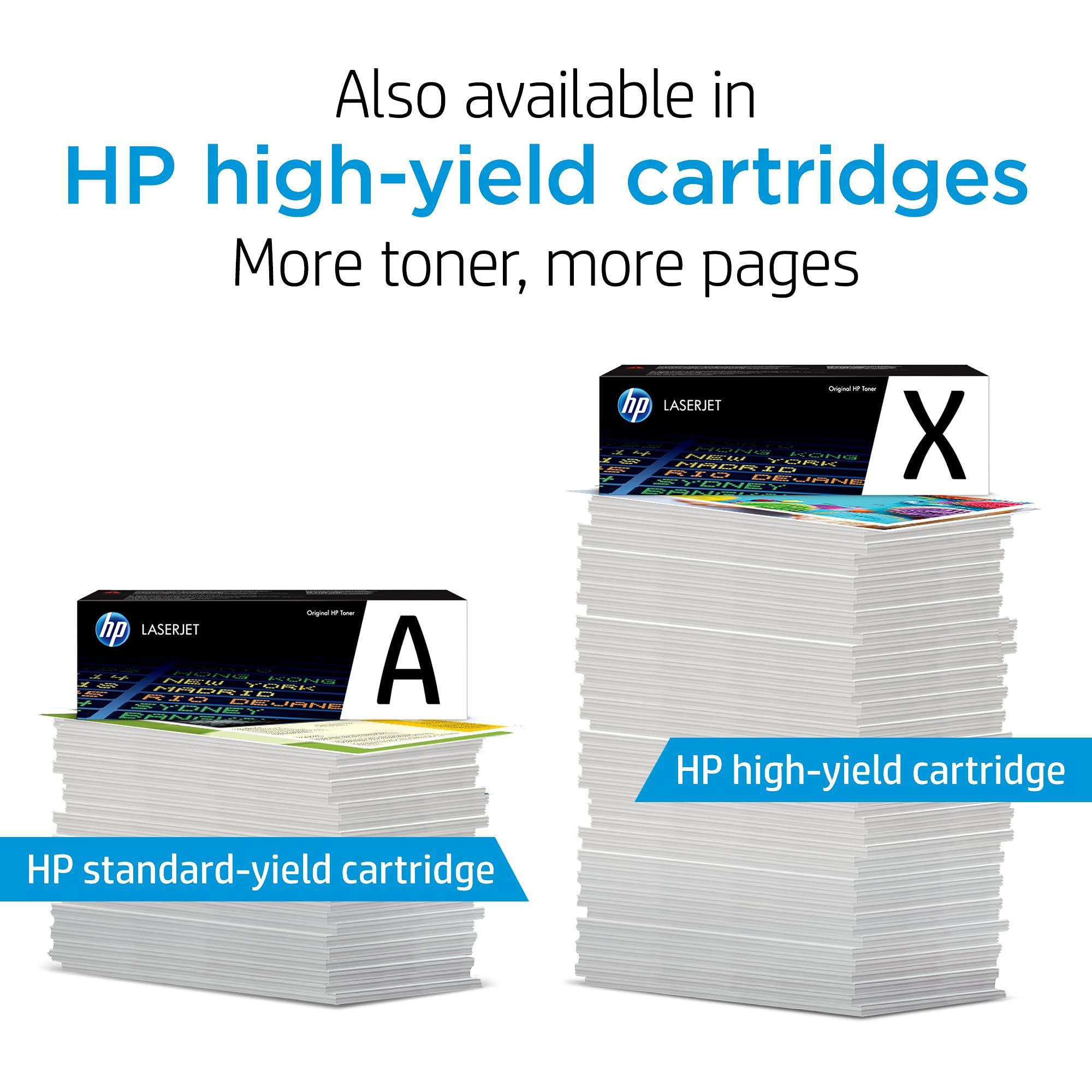 HP 202X   CF500XD   2 Toner-Cartridges   Black   Works with HP LaserJet Pro M254, M281cdw, M281dw, M281fdw   High Yield