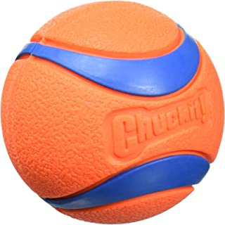 "Chuckit! Ultra Ball Medium, 2.5"", Orange/Blue"