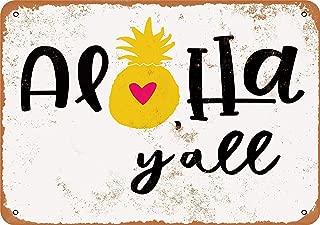 aloha y all sign