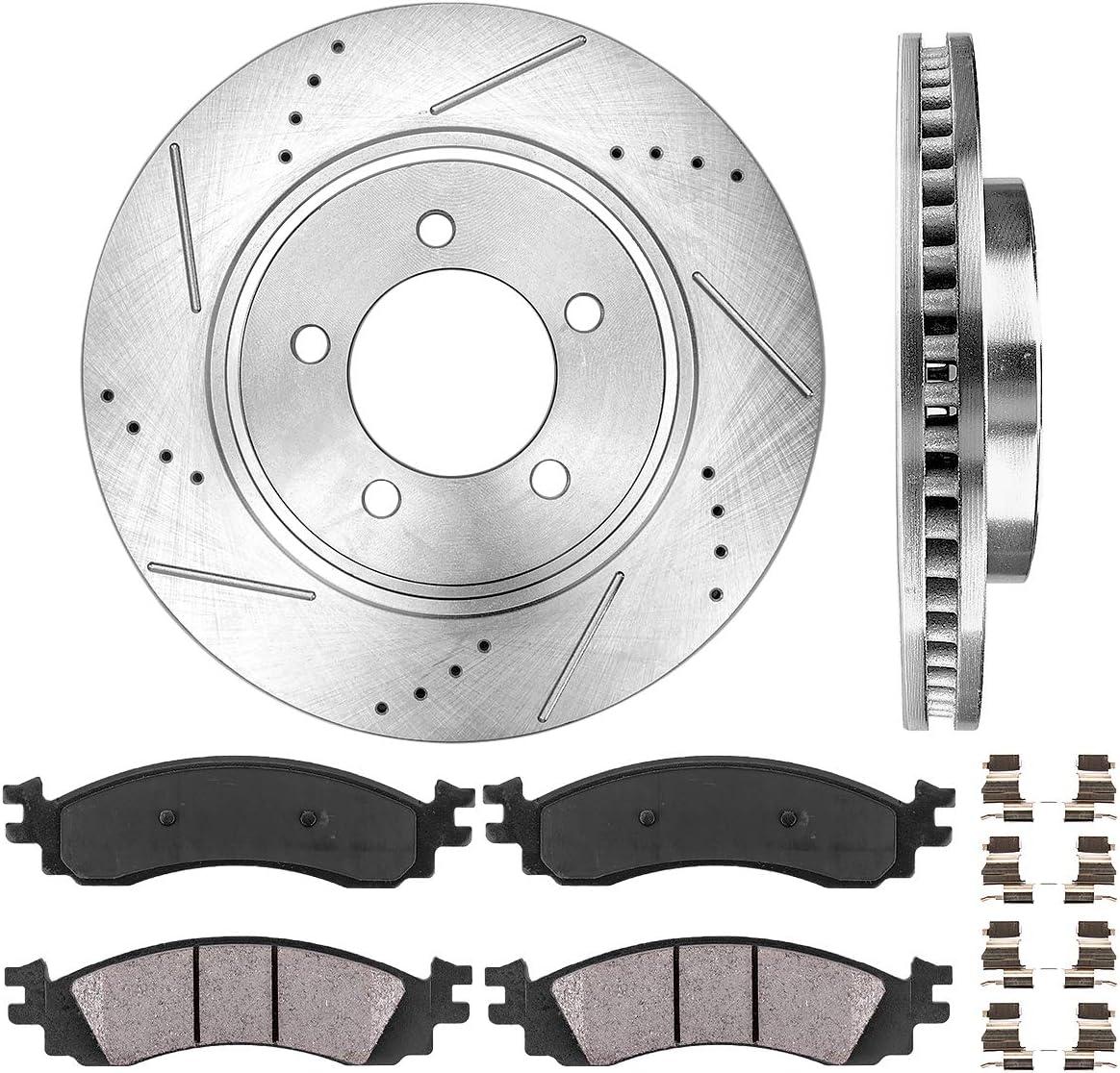 Callahan CDS02934 FRONT 305mm D S 高品質 5 Rotors Lug + Ceramic Bra 2 バースデー 記念日 ギフト 贈物 お勧め 通販