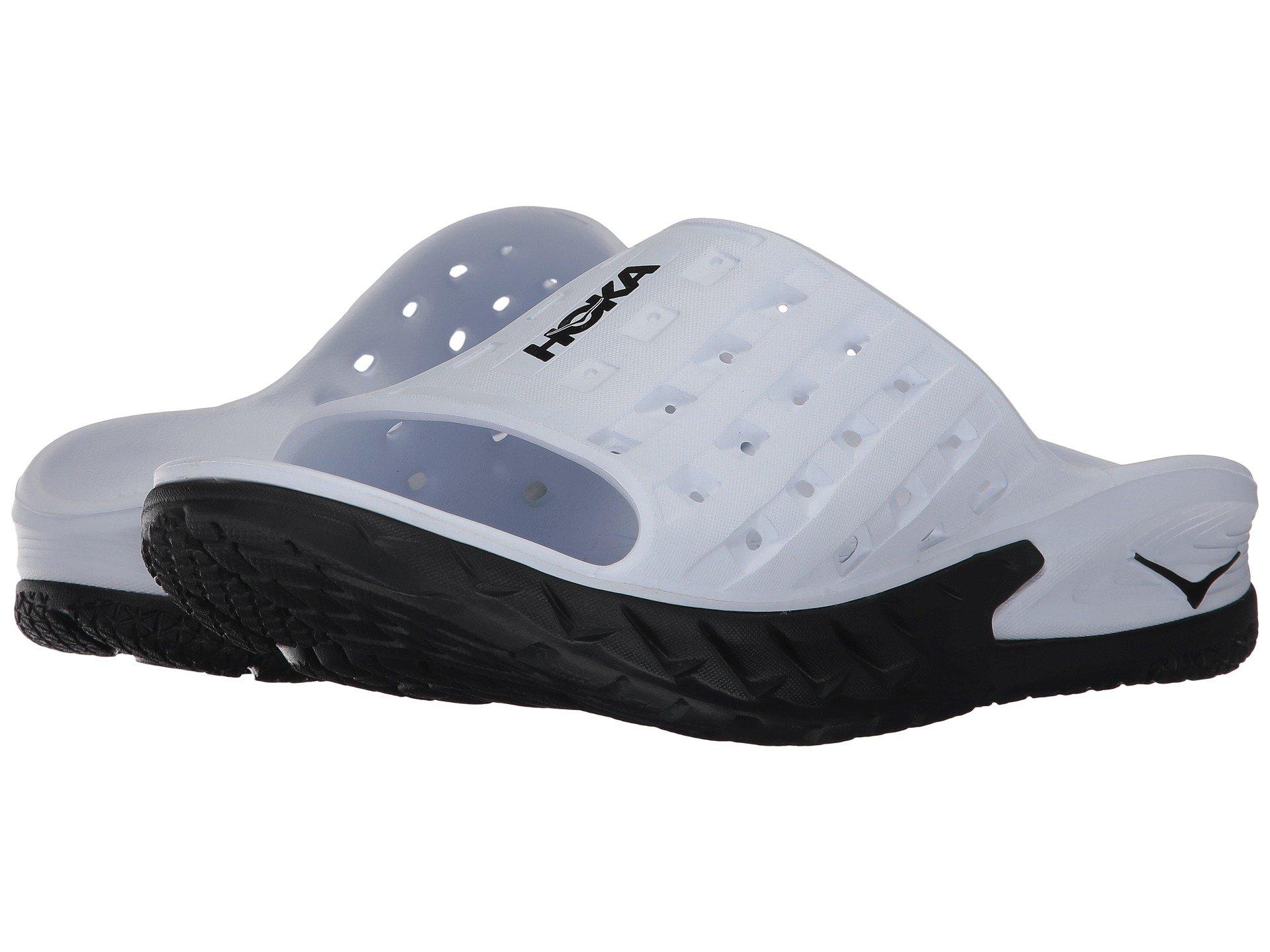 Black One Ora white Recovery Hoka Slide qSCzw0nzx
