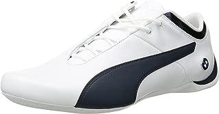 PUMA Men's BMW MS Future Cat Sneaker, White-Team Blue
