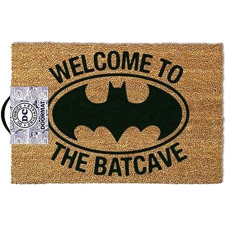 Tappeto zerbino BATMAN WELCOME TO THE BATCAVE originale cocco tappetino