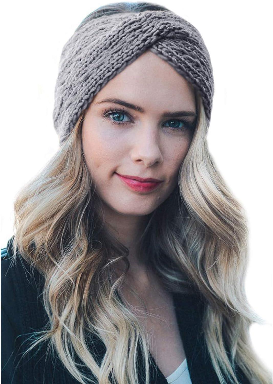 TIENCIY depot Womens Winter Warm Beanie C Headband Stretch Skiing online shop Soft