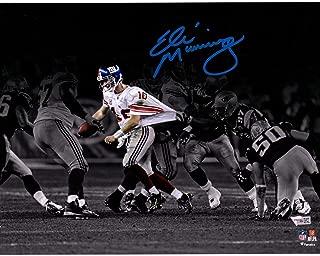 Eli Manning New York Giants Autographed 11