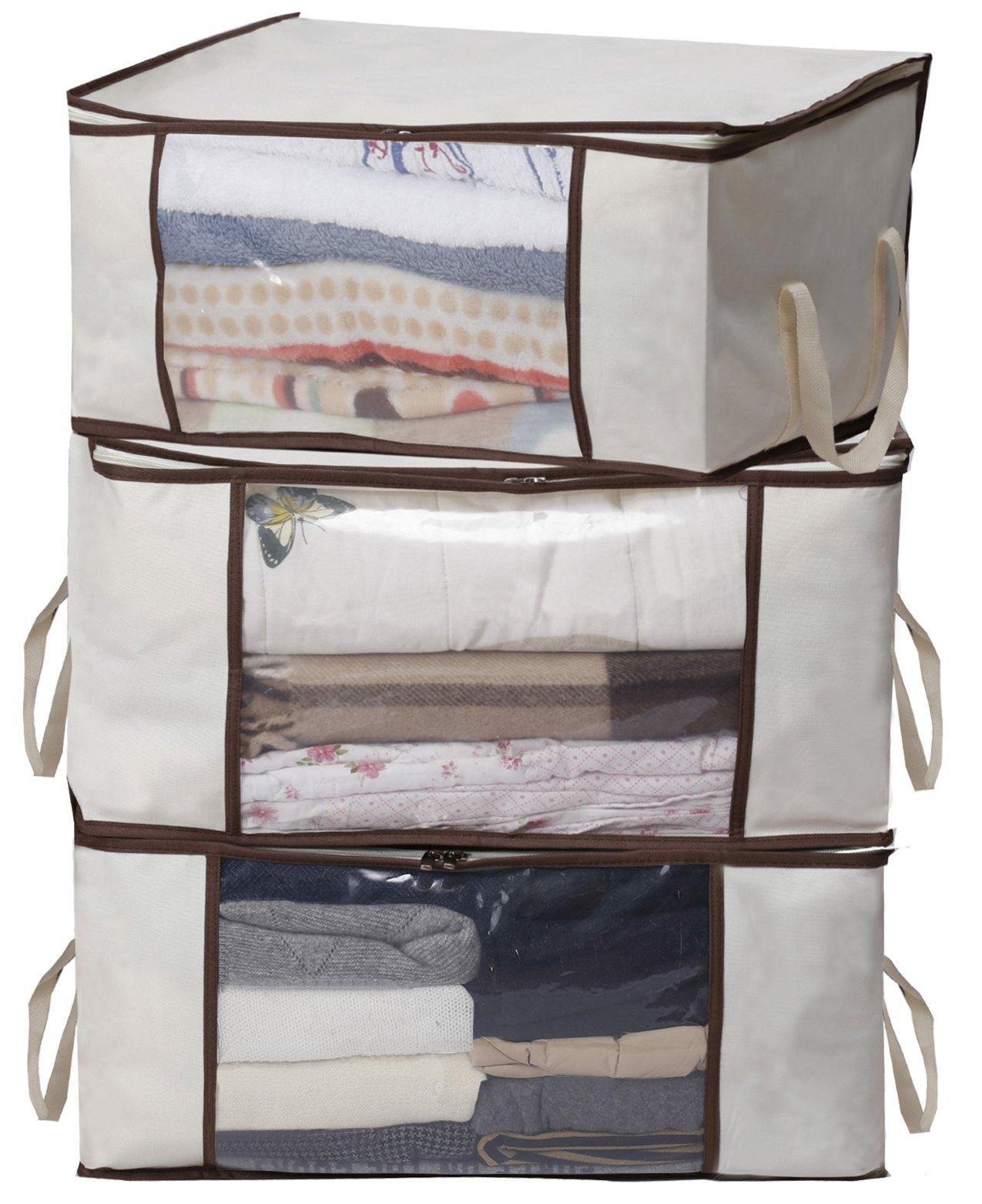 MISSLO Clothing Organizer Storage Comforter
