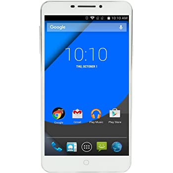 YU Yureka Plus on Android (White)