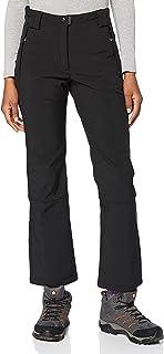 CMP Spodnie Damskie Typu Softshell, Czarne (U901), 38