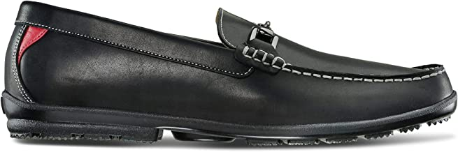FootJoy Men's Club Casuals Buckle Loafers-Previous Season Style Golf Shoes