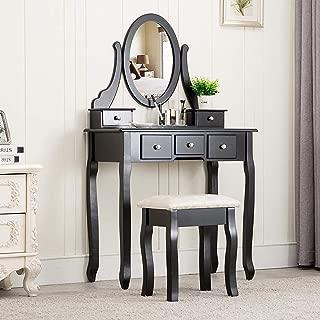 makeup vanity mirror desk