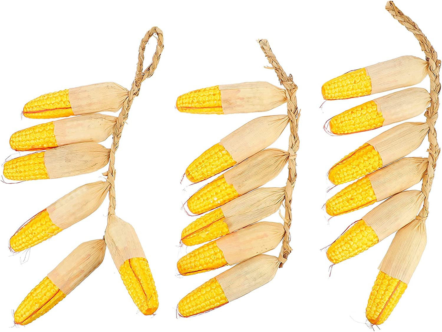 VORCOOL 3 Strings Artificial Corn String Bud Cob Fake ! Super beauty product restock quality top! Decor All stores are sold