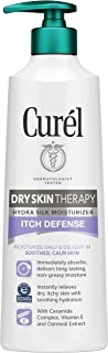 Curél Dry Skin Therapy Hydra Silk Itch Defense Body Lotion, 12 Ounce, Body and Hand Moisturizer for Dry, Itchy Skin, with ...