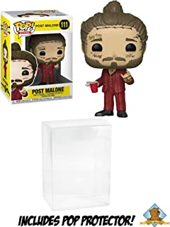 Funko POP! Post Malone with Golden Groundhog Plastic Protector!