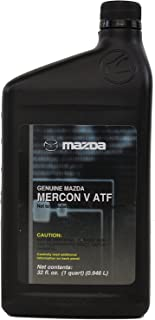 Genuine Mazda Fluid (0000-77-120E-05) MERCON-V Automatic Transmission Fluid - 1 Quart