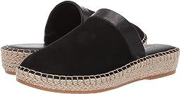 Black Nubuck/Black Leather/Natural Jute/Gum
