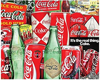 Springbok Puzzles - Vintage Soda Cans - 1000 Piece Jigsaw Puzzle - Large 30 by 24 inch Puzzle - Made in USA - Unique Cut I...