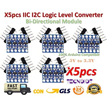 4 canali I2C IIC livello logic Modulo Convertitore Bi-direzionale per Arduino-UK