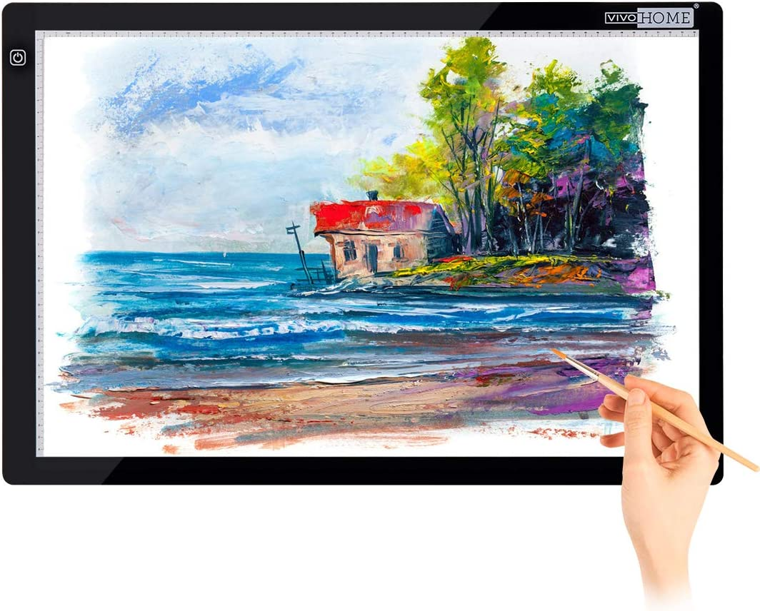 VIVOHOME A4 USB Powered price Ultra-Thin LED Tracing Outlet ☆ Free Shipping Board L Light Box
