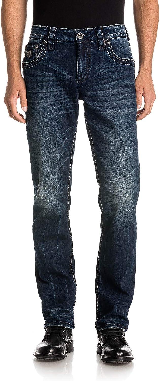 Rock Revival - Mens Boylston J206 Straight Jeans