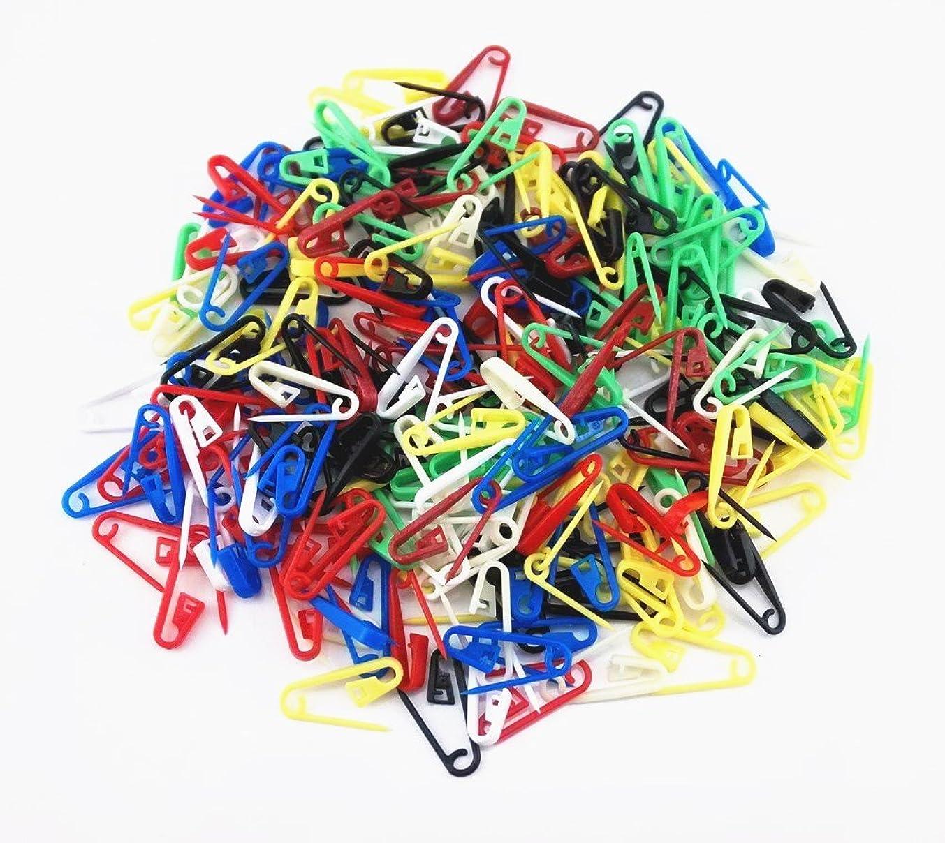 Honbay 200pcs Mix Color Knitting Crochet Locking Stitch Markers Needle Clips