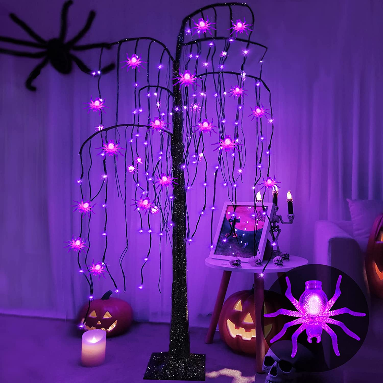 5 Foot Lighted Halloween Tree