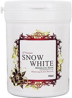 700ml Premium Modeling Mask Powder Pack Snow White for Whitening & Moisturizing