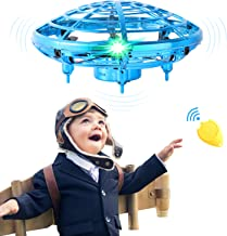 $22 » Flying Toys for Kids Mini UFO Drone Hand Operated Drones with 2 Speed, Flying Ball Drone Easy Indoor Outdoor Toys, Great Flying Drone Gift for Boys/Girls, USB Charging and Remote Controller