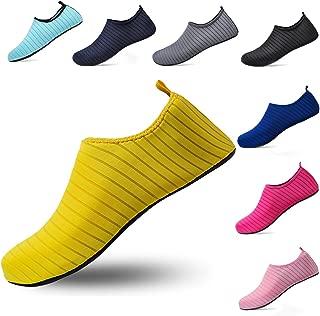 ceyue Unisex Water Shoes Barefoot Aqua Sock Shoes for Beach Pool Swim Surf Yoga Exercise Men Women
