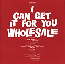 I Can Get It For You Wholesale 1962 Original Broadway Cast
