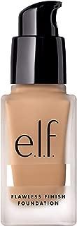 e.l.f. Flawless Finish Foundation, Semi-Matte, Long-Lasting Liquid Makeup, SPF 15, Sand, 0.68 Fl Oz