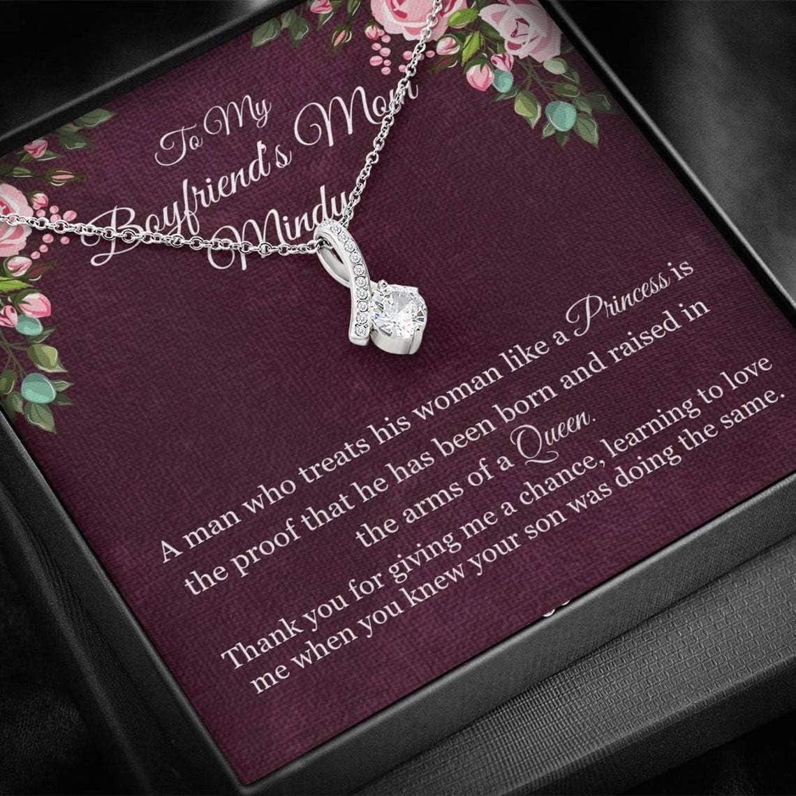 Boyfriends Mom Gift Boyfriend's Mother 新品 送料無料 Birthday 人気ブランド多数対象 Boyfr for
