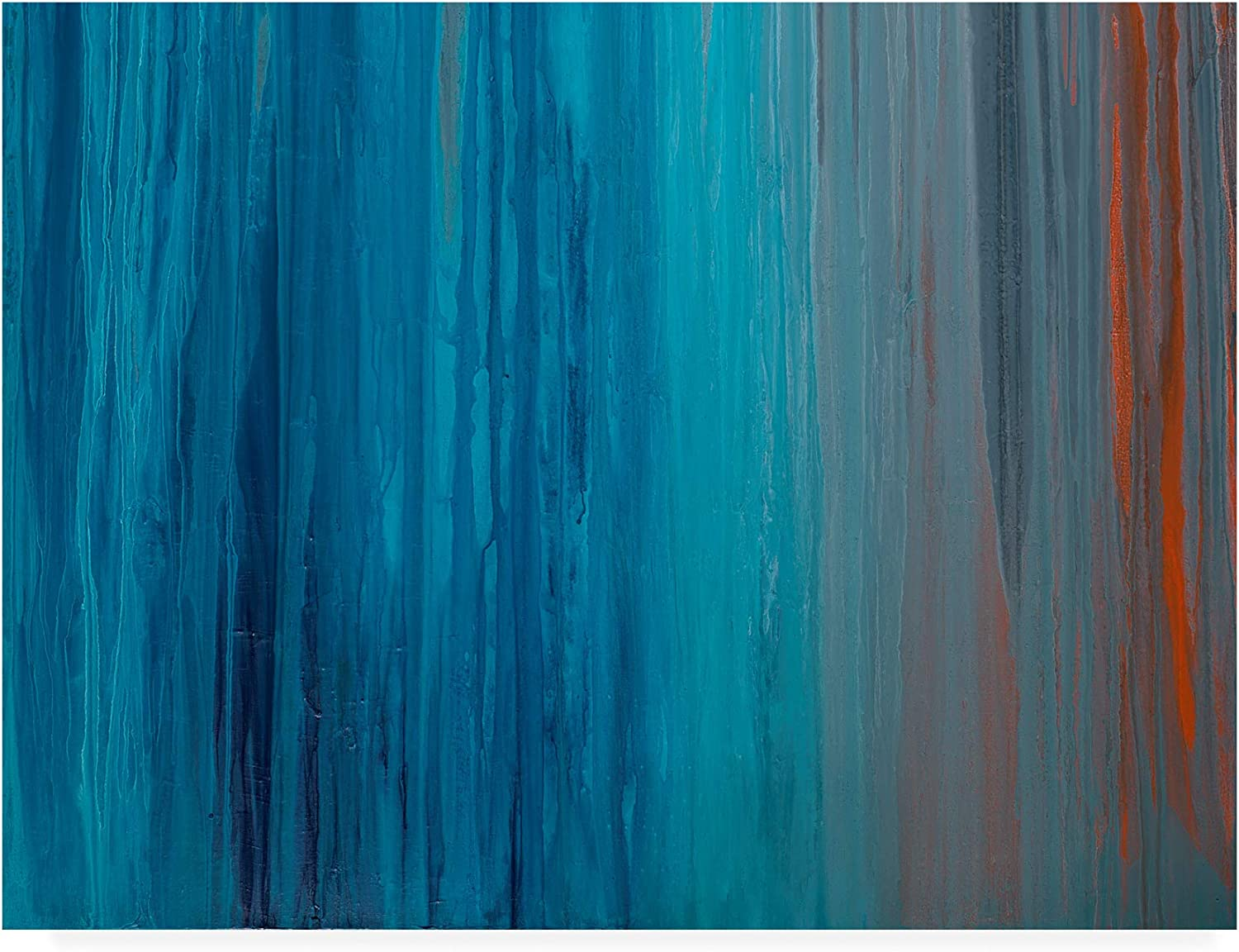 Trademark Fine Art Drenched in Teal II by Teodora Guererra, 14x19
