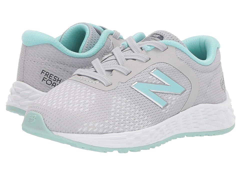 New Balance Kids IAARIv2 (Infant/Toddler) (Light Aluminum/Light Reef) Girls Shoes