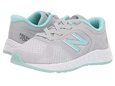 New Balance Kids IAARIv2 (Infant/Toddler) (Light Aluminum/Light Reef) Girls Shoes