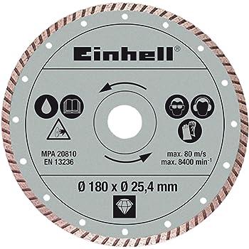 Einhell Disque Diamant 180 X 25 4 Mm Gris Amazon Fr Bricolage