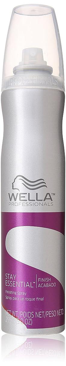 結果としてモス泥沼Wella ユニセックスのために不可欠仕上げスプレー滞在、9オンス 9.0オンス