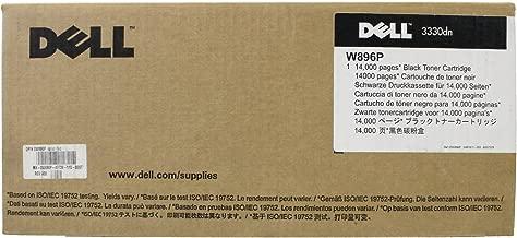 Dell W896P Black Toner Cartridge 3330dn Laser Printer