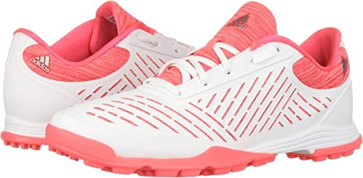 Footwear White/Red Zest/Active Pink