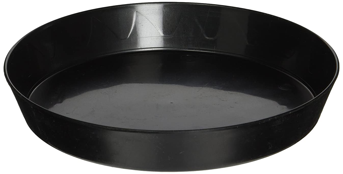 Gro Pro Plant Saucer, 8-Inch, Black