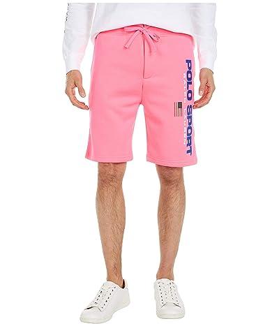 Polo Ralph Lauren Fleece Shorts (Blaze Knockout Pink) Men