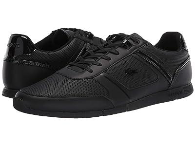 Lacoste Menerva 120 2 (Black/Black) Men