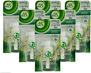 Air Wick paket med 6 elektriska doftpåfyllningar – vita blommor, 19 ml
