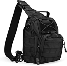 ProCase Tactical Sling Bag Pack Daypack, Military Army Outdoor Range Shoulder Sling Backpack