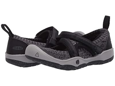 Keen Kids Moxie Sport MJ (Toddler/Little Kid) (Black/Raven) Girl