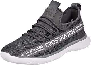 Crosshatch New Mens Lace up Trainers Sports Running Sneaker Shoes Size UK 7-12
