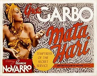 Posterazzi MATA Hari Greta Garbo 1931 Movie Masterprint Poster Print (14 x 11)