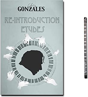 Music Sales Chilly Gonzales Re-Introduction Etudes - 24 pianostukken met poster (Knight Moves), audio-CD + pianopotlood