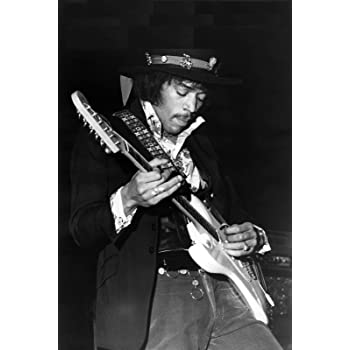 A4/Jimi Hendrix Rock Legend poster Stampa spedizione entro 24/ore di prima classe